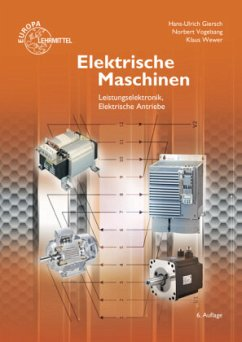 Elektrische Maschinen - Giersch, Hans-Ulrich; Vogelsang, Norbert; Wewer, Klaus