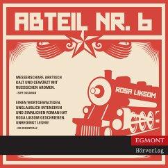 Abteil Nr. 6 (ungekürzt) (MP3-Download) - Liksom, Rosa