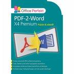 PDF-2-Word X4 Premium (Download für Windows)