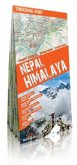 Comfort! map, Trekking Map Nepal Himalaya