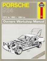 porsche 924 service and repair manual englisches buch. Black Bedroom Furniture Sets. Home Design Ideas