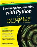 Beginning Programming with Python For Dummies (eBook, PDF)