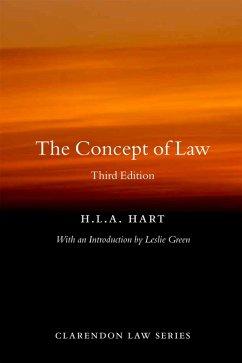 The Concept of Law (eBook, PDF) - Hart, Hla