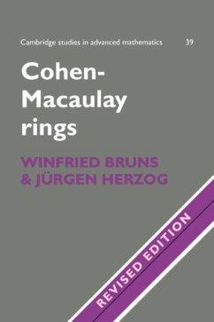 Cohen-Macaulay Rings (eBook, PDF) - Bruns, Winfried