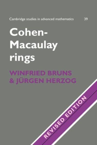Cohen Macaulay Rings Bruns Herzog Pdf