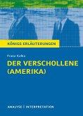 Der Verschollene (Amerika) von Franz Kafka. (eBook, ePUB)