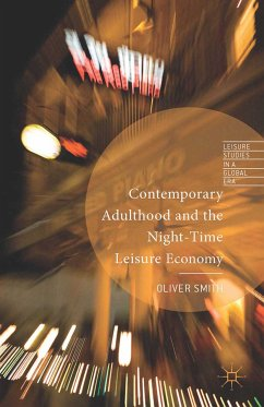 Contemporary Adulthood and the Night-Time Economy (eBook, PDF)