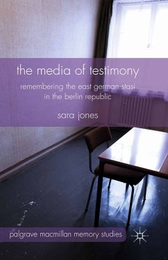 The Media of Testimony (eBook, PDF)