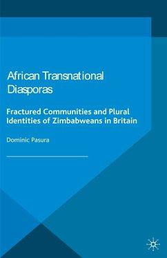 African Transnational Diasporas (eBook, PDF)