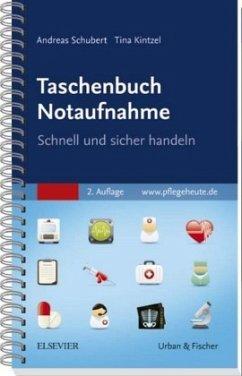 Taschenbuch Notaufnahme - Schubert, Andreas; Kintzel, Tina