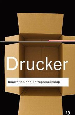 Innovation and Entrepreneurship (eBook, PDF) - Drucker, Peter