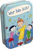 HABA 301323 - Wer Bin Ich?, Quizspiel, Familienspiel, Mitbringspiel, Reisespiel