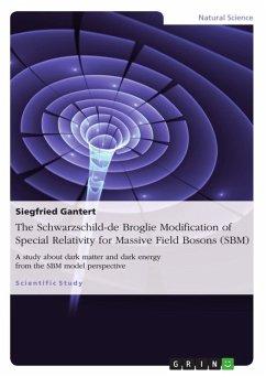 The Schwarzschild - de Broglie Modification of Special Relativity for Massive Field Bosons (SBM) (eBook, ePUB)