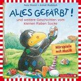 Rabe Socke: Alles gefärbt!, 1 Audio-CD