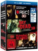 Horror-Box: [Rec], Day of the Dead, Running Scared BLU-RAY Box