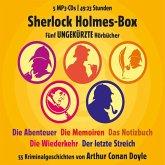 Sherlock Holmes Box, 5 MP3-CD