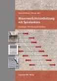 Mauerwerksinstandsetzung mit Spiralankern. (eBook, PDF)