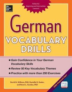 German Vocabulary Drills - Godor, Daniele; Gordon, Ronni; Stillman, David