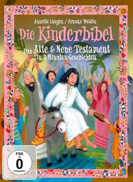 die kinderbibel das alte und neue testament in 5 minuten geschichten 2 discs film auf dvd. Black Bedroom Furniture Sets. Home Design Ideas