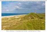 Nordsee - Impressionen einer Landschaft am Meer (Wandkalender immerwährend DIN A3 quer)