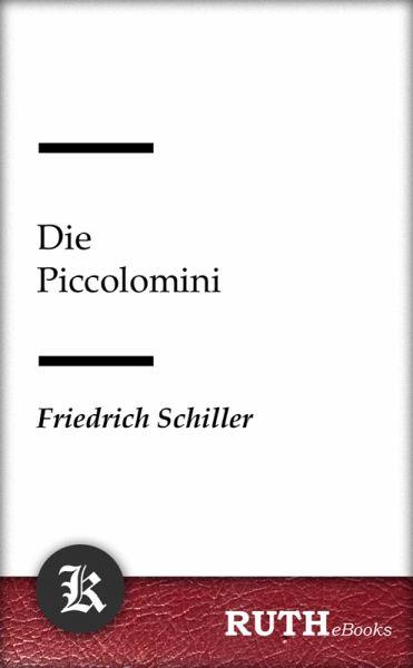 Die Piccolomini (eBook, ePUB)