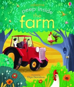 Peep Inside: The Farm - Milbourne, Anna; Demidova, Olga