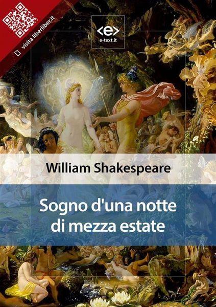 Matrimonio Tema Sogno D Una Notte Di Mezza Estate : Sogno di una notte mezza estate ebook epub von