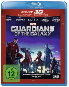 Guardians of the Galaxy (Blu-ray 3D, + Blu-ray 2D)