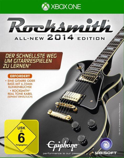 Rocksmith 2014 All New Edition Inkl Rocksmith Real Tone