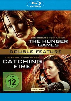 Die Tribute von Panem - The Hunger Games / Catching Fire BLU-RAY Box - Lawrence,Jennifer/Hutcherson,Josh