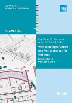 Wirkprinzipprüfungen und Vollprobetest für Gebäude - Balow, Jörg; Borrmann, Dirk; Ernst, Achim; Lucka, Frank