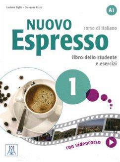 Nuovo Espresso 1 - einsprachige Ausgabe, m. DVD-ROM / Nuovo Espresso, einsprachige Ausgabe .1