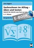 Sachrechnen im Alltag - üben und testen (eBook, PDF)