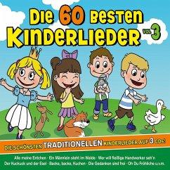 Die 60 besten Kinderlieder, 3 Audio-CDs - Familie Sonntag