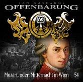 Mozart, oder: Mitternacht in Wien / Offenbarung 23 Bd.54 (1 Audio-CD)