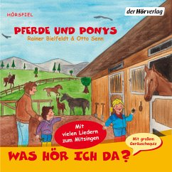 Was hör ich da? Pferde und Ponys (MP3-Download) - Senn, Otto; Bielfeldt, Rainer