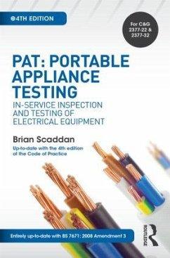 PAT: Portable Appliance Testing - Scaddan, Brian