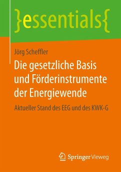 Die gesetzliche Basis und Förderinstrumente der Energiewende - Scheffler, Jörg