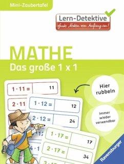 Das große 1 x 1 / Lern-Detektive - Mini-Zaubertafel (Mängelexemplar) - Illustration: Loori