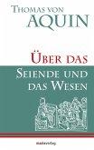 Über das Seiende und das Wesen (eBook, ePUB)