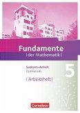 Fundamente der Mathematik 5. Schuljahr. Arbeitsheft Gymnasium Sachsen-Anhalt