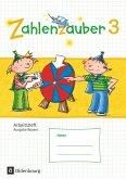 Zahlenzauber 3. Jahrgangsstufe. Arbeitsheft mit eingelegtem Lösungsheft Bayern