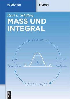 Maß und Integral - Schilling, René L.