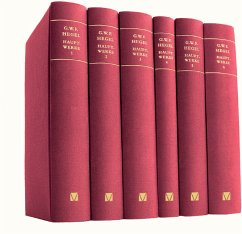Hauptwerke, 6 Bände, Sonderausgabe - Hegel, Georg Wilhelm Friedrich