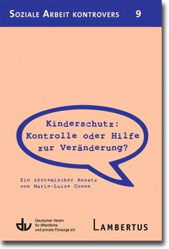 Kinderschutz: Kontrolle oder Hilfe zur Veränderung? (eBook, PDF) - Conen, Marie-Luise