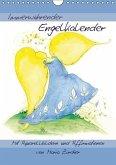 Immerwährender Engelkalender - Mit Aquarellbildern und AffirmationenAT-Version (Wandkalender immerwährend DIN A4 hoch)