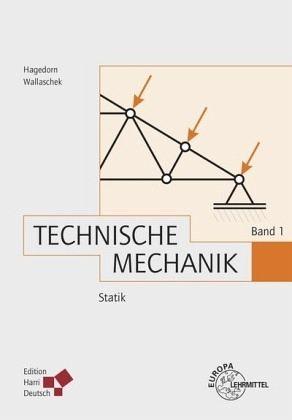 Technische Mechanik Band 1 Statik Von Peter Hagedorn