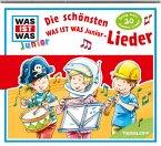 Die schönsten WAS IST WAS Junior-Lieder, 1 Audio-CD