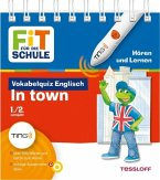 Vokabelquiz Englisch In town. Ting-Edition