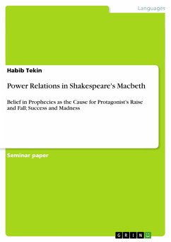 Power Relations in Shakespeare's Macbeth - Tekin, Habib